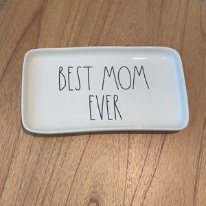 Best Mom Ever Rae Dunn Catch All Jewelry Tray